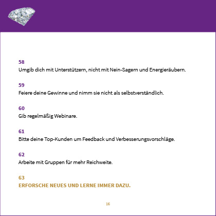 Business Checkliste Beispiel